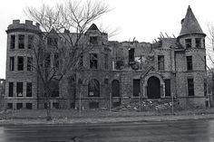 Abandoned mansion, Detroit.