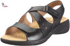Ganter Hera Weite H 1-205851-0100, Sandales mode femme - Noir - V.6, 37 EU - Chaussures ganter (*Partner-Link)