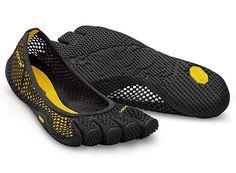 4ee7bfdba3 Details about Vibram VI-B Womens FiveFingers Black Shoes 38-42/7-11