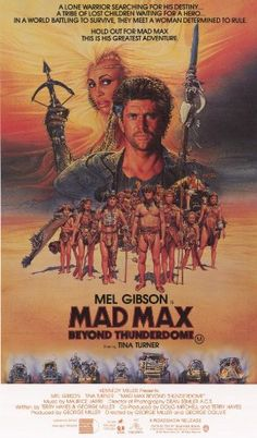 Mad Max Beyond Thunderdome Poster Movie B 11x17 Mel Gibson Tina Turner Helen Buday Frank Thring Jr. Approx. Size: 11 x 17 Inches - 28cm x 44cm. Size is provided by the manufacturer and may not be exact. The Amazon image in this listing is a digital scan of the poster that you will receive. Mad Max Beyond Thunderdome 11 x 17 Inches Style B Mini Poster. Packaged with care and shipped in sturdy reinf... #InclineWholesalePosters #Home