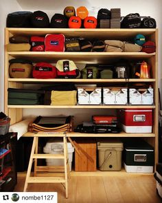 Products such as camping lanterns undoubtedly make the journey a lot workable. I… Products such as camping lanterns undoubtedly make the journey a lot workable. It is likewise really safe, as camping lanterns do not construct bonfires. Storage Room, Garage Storage, Storage Spaces, Room Organization, Used Camping Gear, Camping Style, Camping Chair, Outdoor Camping, The Journey