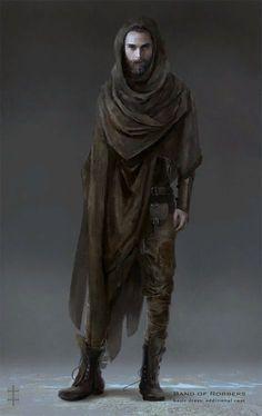 Dark Mori man concept. dark mori kei for men, bedouin, goth