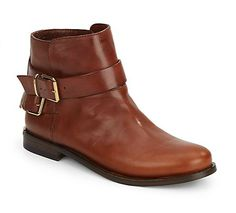 Burberry   Kalina Leather Ankle Boots   SAKS OFF 5TH