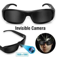 Wifi Spy Camera, Hidden Spy Camera, Dvr Camera, Mini Camera, Spy Camera Glasses, Spy Equipment, Cool Gadgets To Buy, Cheap Gadgets, Clever Gadgets