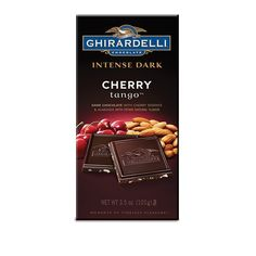 Dark Chocolate bar with cherry bits and crunch roasted almonds Divine Chocolate, Dark Chocolate Bar, Chocolate Cherry, Candy Recipes, Gourmet Recipes, Ghirardelli Chocolate Squares, Almond Bars, Chocolate Company, Roasted Almonds