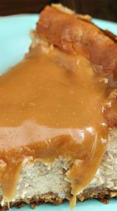 Caramel Apple Cheesecake #delicious #recipe #cake #desserts #dessertrecipes #yummy #delicious #food #sweet