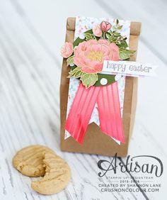 Crush On Colour: Stampin' Up Artisan Design Team Blog Hop: Easter Treat Toppers