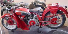 1934 Moto Guzzi GTW 500