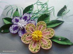 МК цветочек.(квиллинг) | Страна Мастеров