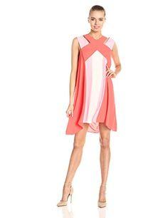 BCBGMax Azria Women's Chantal Crossover Neckline Dress, Ambrosia Combo, Large BCBGMAXAZRIA http://www.amazon.com/dp/B00PZH7Y7A/ref=cm_sw_r_pi_dp_UGJ2ub13Z62Q2