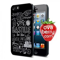 Bastille English Rock Band Quotes iPhone and Samsung Galaxy Phone Case