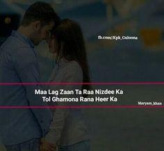 #αвí ♡ Pashto Shayari, Pashto Quotes, Romantic Poetry, Quotations, Qoutes, Good Job, Urdu Poetry, True Stories, Love Quotes