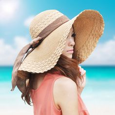 Beach sombrero flojo sombreros de verano para mujeres del sombrero del sol  paja para mujer chapeu 3b5f33d6d08