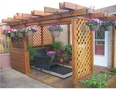There are lots of pergola designs for you to choose from. You can choose the design based on various factors. First of all you have to decide where you are going to have your pergola and how much shade you want. Diy Pergola, Pergola Carport, Retractable Pergola, Wood Pergola, Small Pergola, Pergola Swing, Deck With Pergola, Gazebo, Covered Pergola