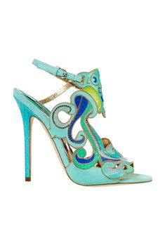 These shoes have my name written all over them. I love the colors, and them being stilettoes. They are gorgeous !!!!!