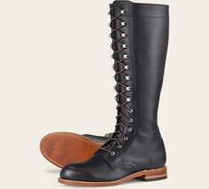 Women's 3385 Gloria Black Leather Boot | Red Wing Heritage