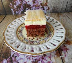 Słodko Słodka: Ciasto z Malinową Wkładką. Tiramisu, Cheesecake, Pie, Ethnic Recipes, Food, Torte, Cake, Cheesecakes, Fruit Cakes