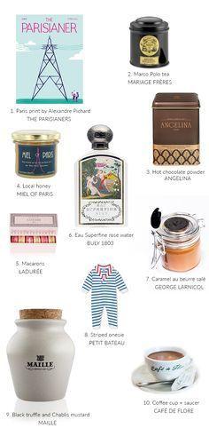 Gift Guide: Perfect Souvenirs from Paris | Mannaparis.com