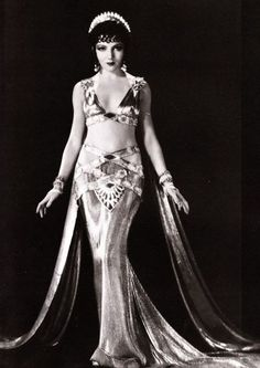 Claudette Colbert 1934 Cleopatra Gown Remake by CouturePoetry