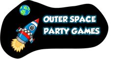 Outer Space Games for Children's Birthday Party!