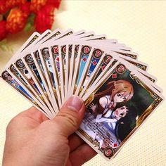 Sword Art Online Playing Cards Swordartonline Sao Anime Merchandise
