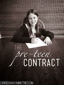 Getting Carrie'd Away: The Pre-Teen Contract
