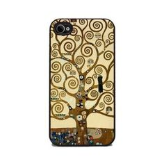 Tree of Life by Gustav Klimt - iPhone 4 or 4s Cover