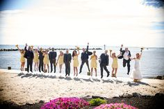 Land's End, the best of Long Island Waterfront Wedding Venues. Have an outdoor wedding reception on the sand, overlooking the water of the Great South Bay. Wedding Photo Gallery, Wedding Events, Party Wedding, Waterfront Wedding, Outdoor Wedding Reception, Lands End, Event Venues, Corporate Events, Real Weddings