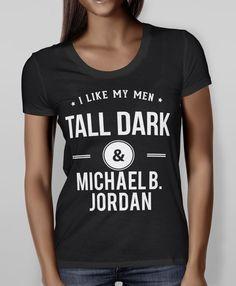 Tall Dark & Michael B. Jordan Tee