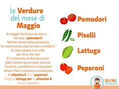 Con il mese di Maggio e la sua esplosione di colori e profumi, siamo nel pieno della stagione primaverile. Le giornate finalmente più calde si allungano e facendo la spesa al mercato i banchi della frutta e della verdura si riempiono di alimenti succosi, nutrienti ma allo stesso tempo freschi.  Scopri le principali verdure del mese di Maggio!  Scegli la ricetta perfetta con cui abbinare queste verdure -->http://sglutinati.it/blog #sglutinati #senzglutine #glutenfree  #bio #km0…