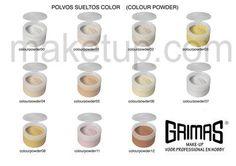 Polvos sueltos de color! - maketup.com-grimas maquillaje profesional spain