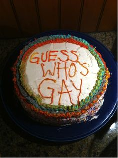 Lies can hold you back from living your life. | 27 Painfully Honest CakeMessages
