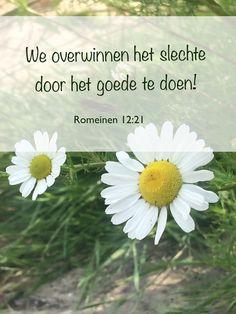 Romeinen 12:21 Doe het goede!