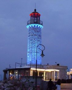 Patra Harbour Lighthouse