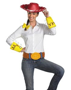Toy Story 3 Jessie Accessory Kit - Saddle up and ride off into the sunset  with Woody or Buzz or both when you create your Toy Story 3 Jessie costume  with ... a386f1ab44f