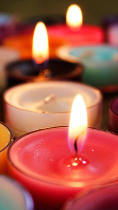 Candle Flame Wick Wax #iPhone #6 #plus #wallpaper
