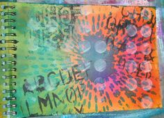 "Página Art Journal ""Backgrounds"""