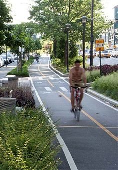Queens Plaza NYC by landscape designer Margie Ruddick. Click image for full story and visit the slowottawa.ca boards >> http://www.pinterest.com/slowottawa/