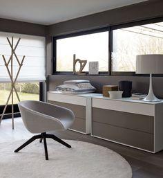 Thomas's office chair option: MART 2012 - Collection: B&B Italia - Design: Antonio Citterio