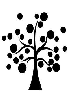 La classe de Léna : 10 silhouettes d'arbres