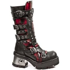 New Rock Boots - 1021 R2 Ladies Metallic Boots 60 DAYS CUSTOM MAKE ONLY