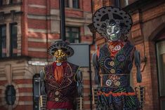 Manchester Day 2019. No Eyed Theatre parade piece.