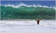 огромные океанские волны - Поиск в Google