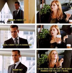 Suits Season 1 Donna and Harvey Serie Suits, Suits Tv Series, Suits Show, Suits Tv Shows, Narnia, Donna Harvey, Gossip Girl, Donna Suits, Specter Suits