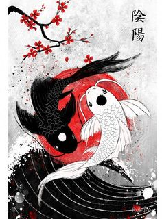 "Koi fish are the domesticated variety of common carp. Actually, the word ""koi"" comes from the Japanese word that means ""carp"". Outdoor koi ponds are relaxing. Koi Fish Drawing, Fish Drawings, Art Drawings, Tattoo Drawings, Art Tattoos, Ring Tattoos, Anime Tattoos, Couple Drawings, Small Tattoos"