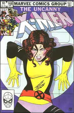 the Uncanny X-Men (vol.1) #168 by Paul Smith #KittyPryde