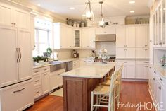 Kitchen Renovation - Farmhouse Style at Finding Home