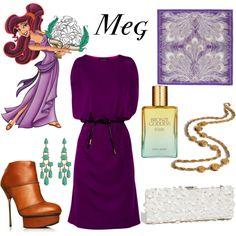 "I freaking love that dress! ""Disney - Megara"" by belleoftheball on Polyvore"