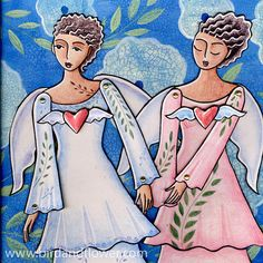 Hey, I found this really awesome Etsy listing at https://www.etsy.com/ru/listing/224895979/two-pink-and-blue-angel-paper-doll