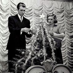 "Jimmy Stewart ""The Shop Around the Corner""....what a great movie. Thanks, Santa :-)"